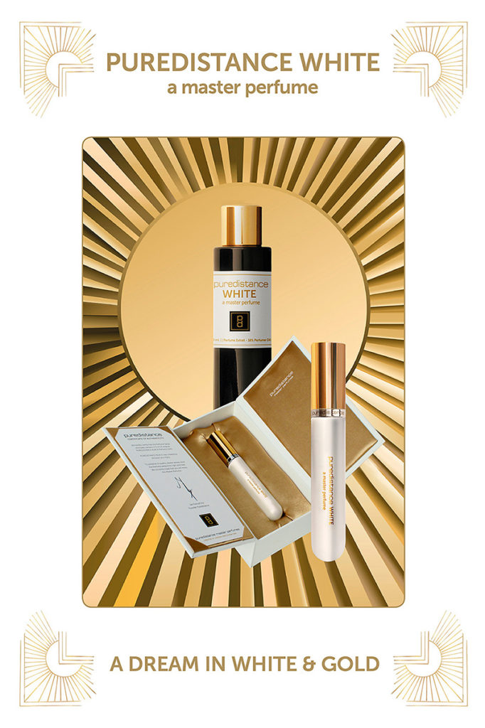 Puredistance White Perfume a dream in white and gold
