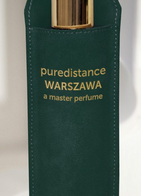 100ml puredistance warszawa flacon in leather holder