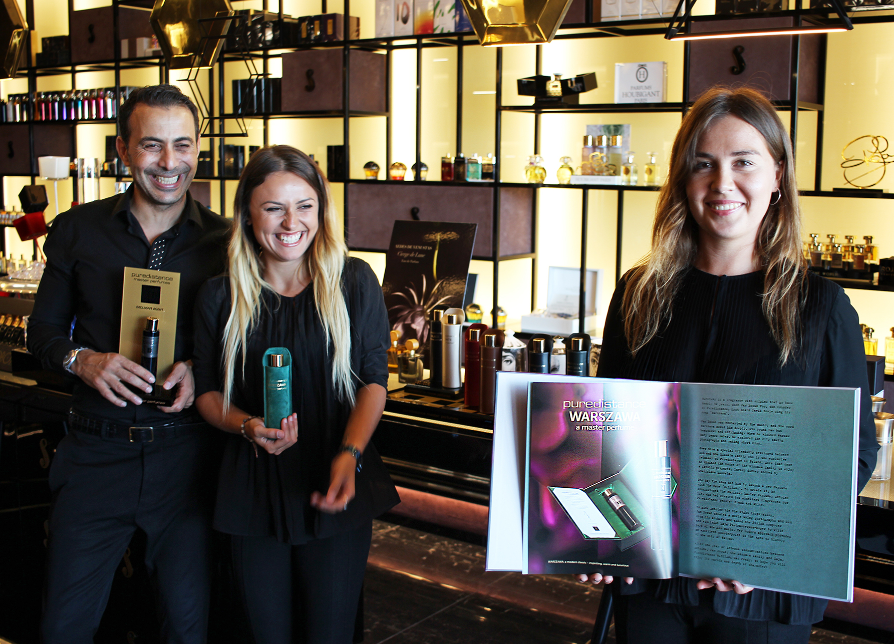 Team of Bar a Parfums in Puerto Banus, Marbella