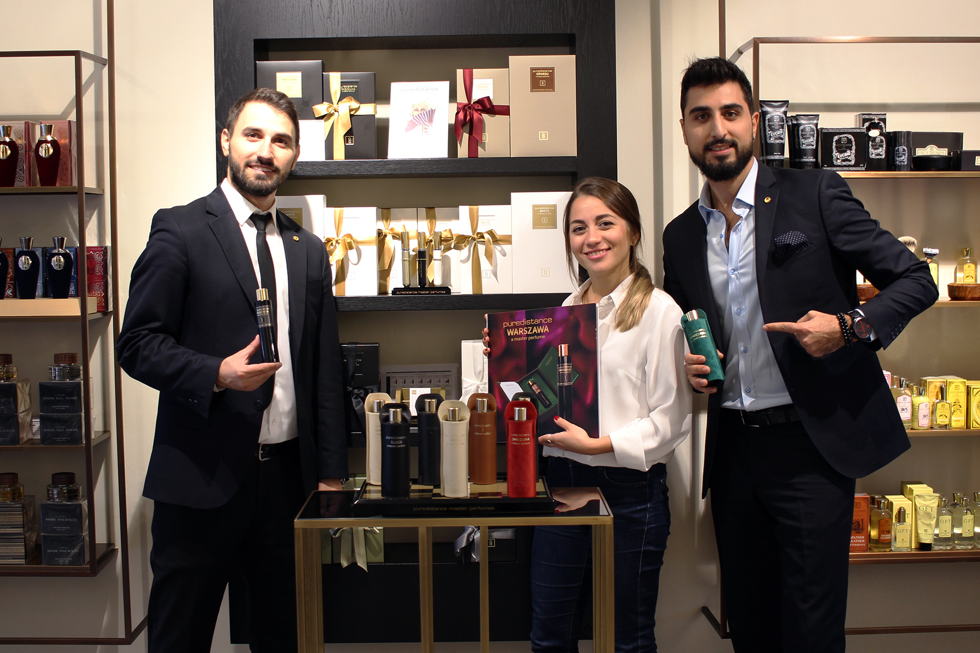 The Team of Home of Scents Nişantaşı in Istanbul