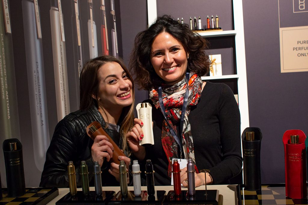 The ladies of Home of Scents in Istanbul