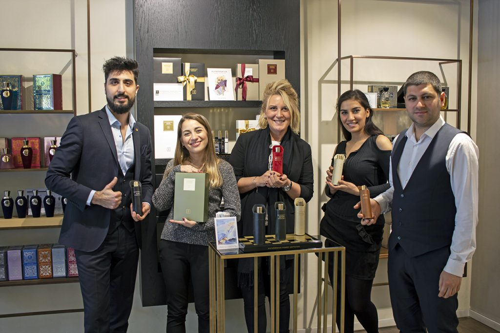 The team of Home of Scents in Nişantaşı
