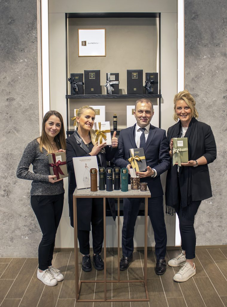 The team of Home of Scents at the Mall of İstanbul